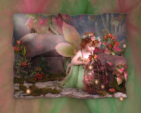 Ее феи и ангелочки восхитительны.  Обожаю дарить ее открыки по поводу и без.  А какие открытки тронули Вашу.