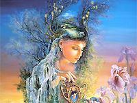 """Октябрь - от старинного  """"листопад """".  Покровителем людей, родившихся в первой половине октября, называют Сварожича..."""