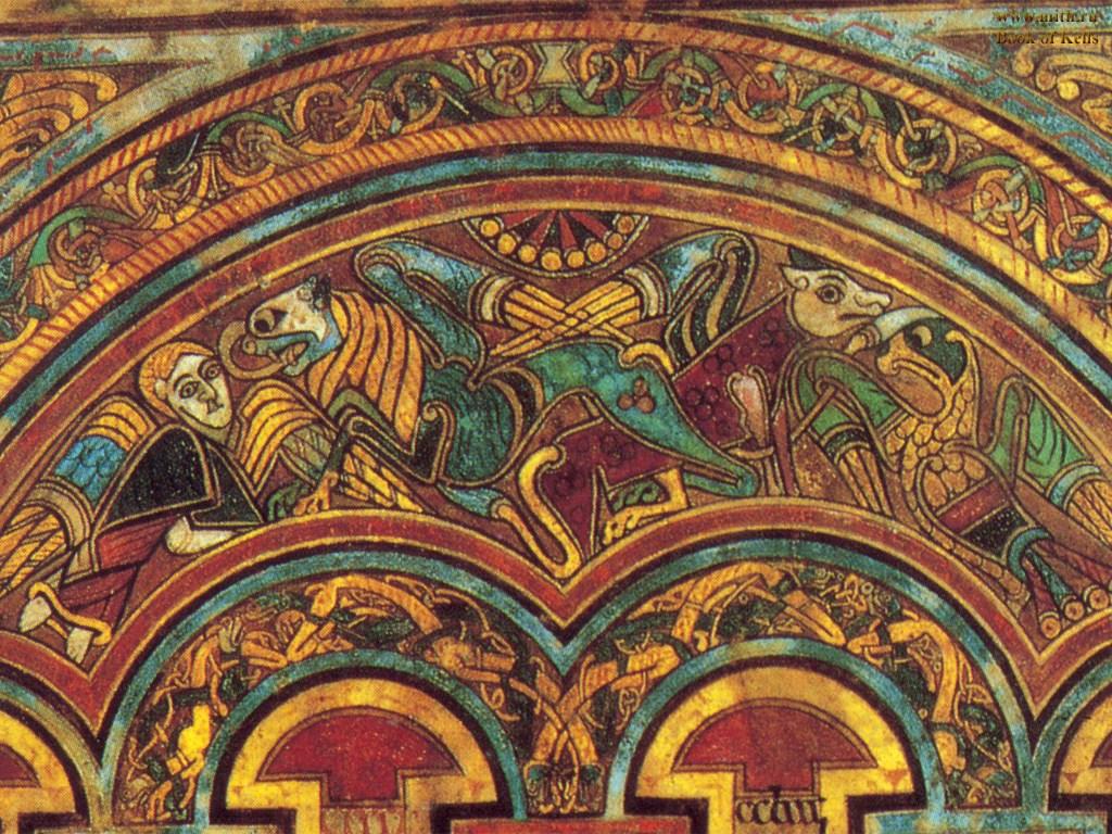 Book of Kells Евангелие из Келлса: шедевр ирландской миниатюры ...